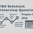 180 Selenium Interview Questions and Answers