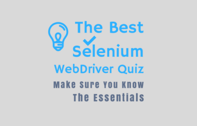 Selenium Quiz - Know the Essential of Automation Testing