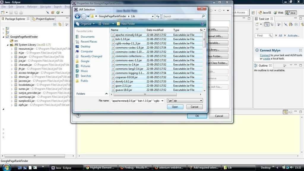 how to download a file using selenium webdriver in java