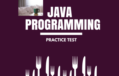Java Programming Practice Test.