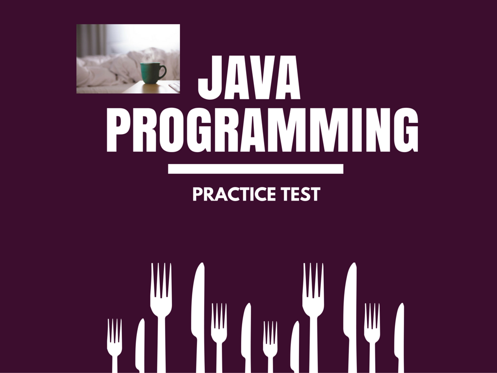 java programming practice test for beginners