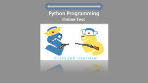 Best Python programming online test.
