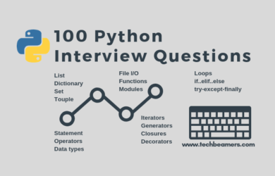 100 Python Interview Questions and Answers