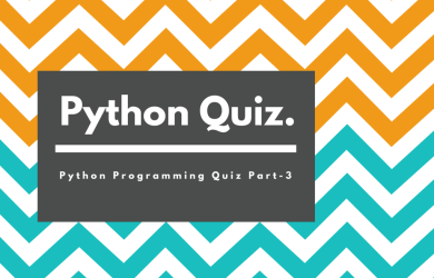 Python Quiz Part-2: 20 Questions for Beginners.