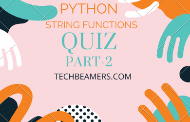 Python string functions and examples