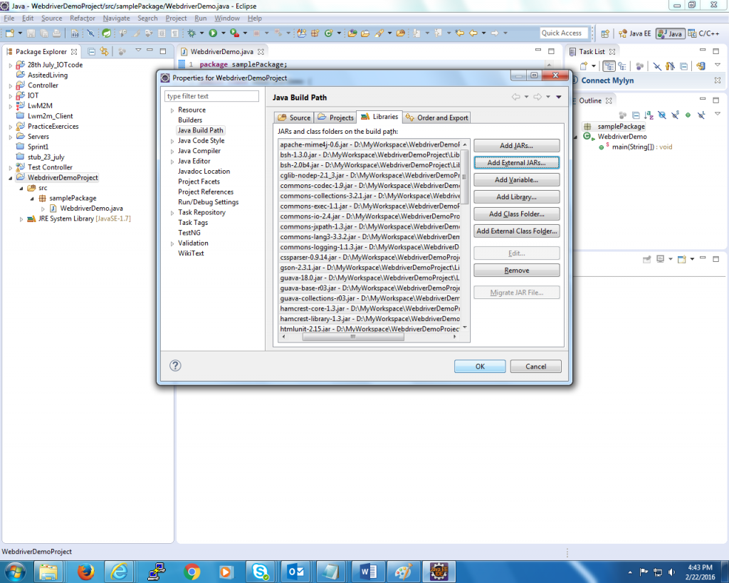 how to download a file using selenium webdriver