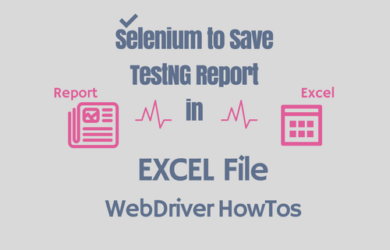 Save Selenium WebDriver TestNG Result in Excel