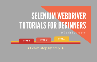 Selenium Webdriver Tutorial - Step by Step Lessons