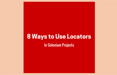 Use Locators in Selenium Projects