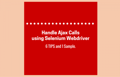 Handle Ajax Calls using Selenium Webdriver
