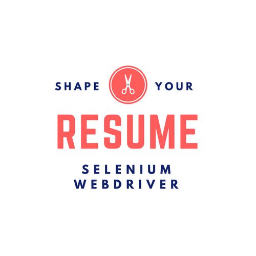sample resume for selenium webdriver job interview