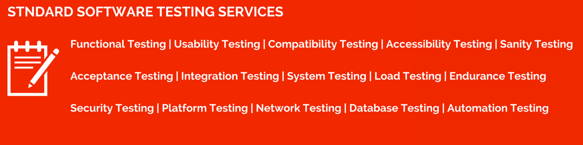 Standard Software Testing Services