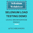 Create a Selenium Load Testing Demo Using BrowserMob Proxy