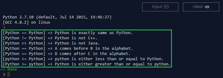 Python Compare String Methods With Code Snippets