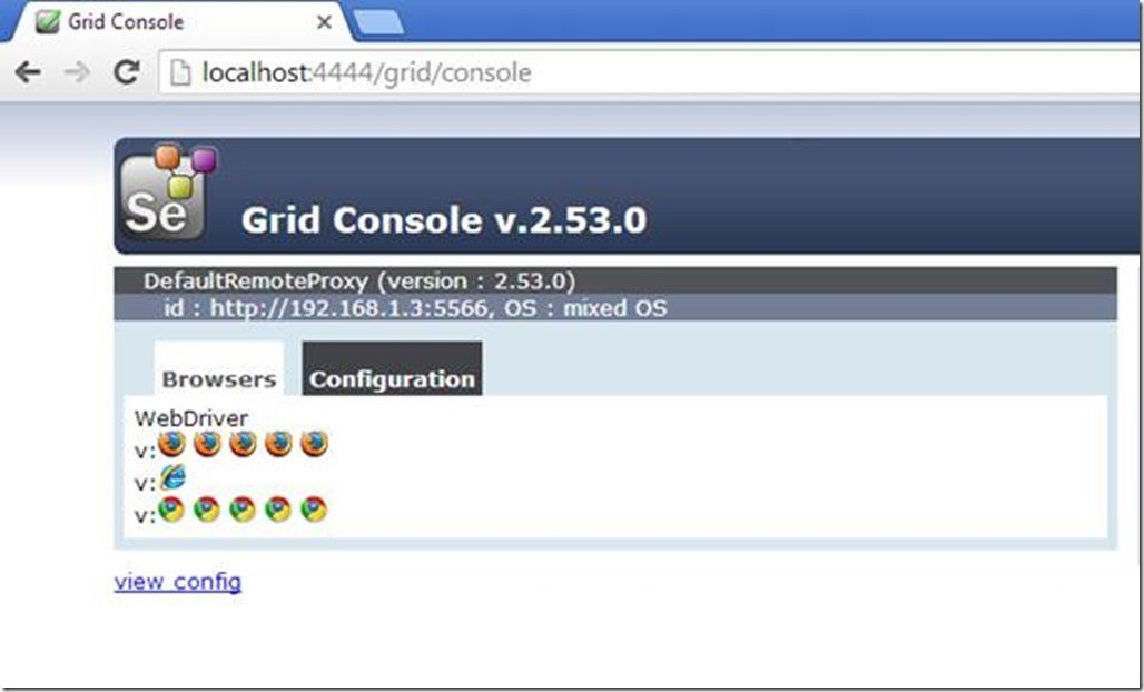 Download Selenium Grid and Set up Multiple Browsers