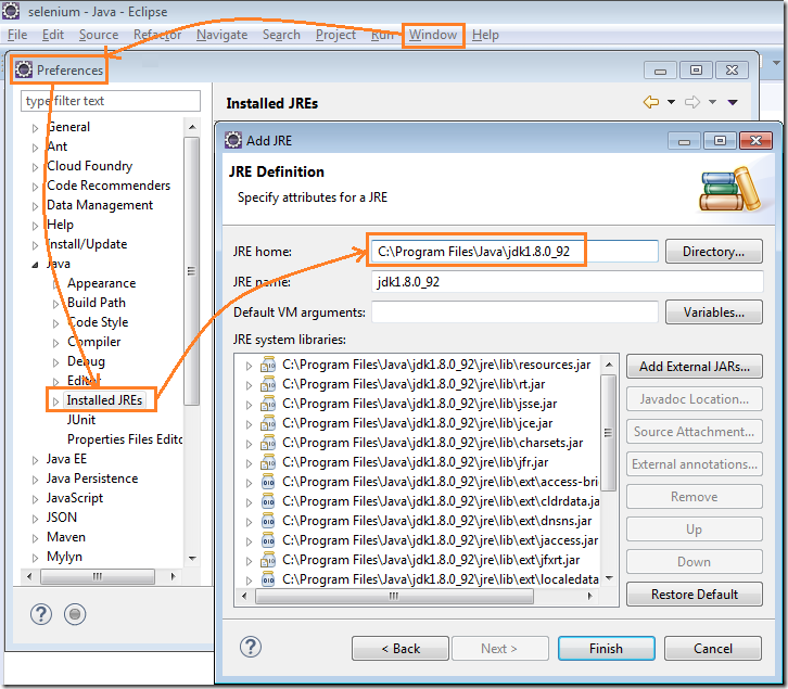 Create Selenium Webdriver Maven Project in TestNG and Eclipse