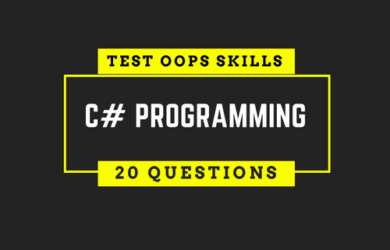 C# OOPS Interview Questions