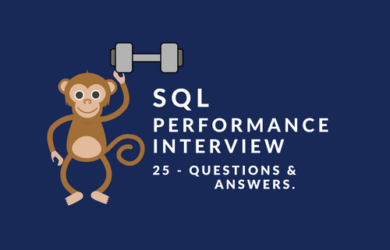 SQL Performance Interview Questions