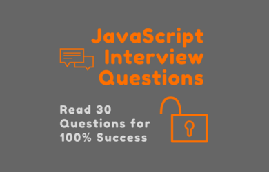 30 JavaScript Interview Questions