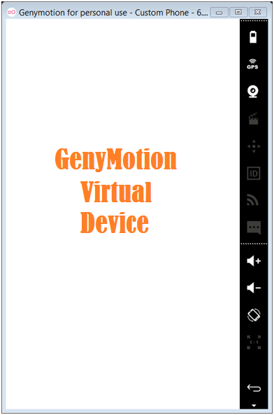 Genymotion Emulator