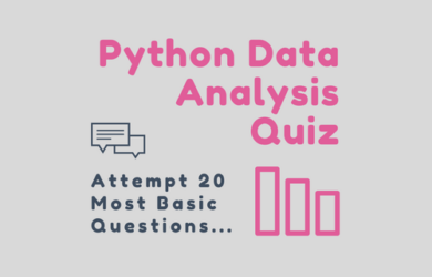 Python Data Analysis Quiz for Beginners