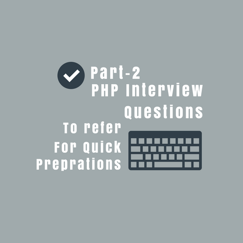 php interview questions and answers for 1 yr experienced
