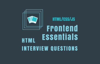 html interview questions for frontend developers