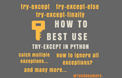How to Best Use Try-Except in Python