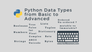 Python Data Types - Learn from Basic to Advanced