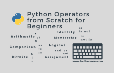 Python Operators Tutorial for Beginners to Learn