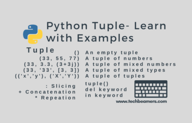 Python Tuple - Learn with Examples