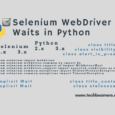 Selenium WebDriver Waits in Python Explained with Examples
