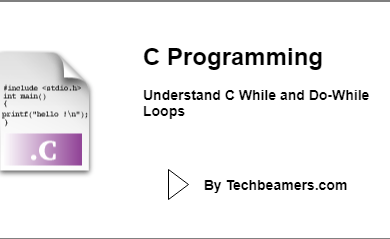 C While and Do-While Loops
