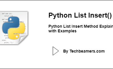 Python List Insert Method Explained with Examples