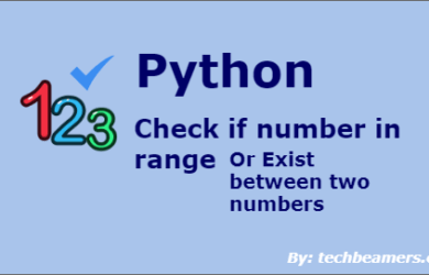 Python Check Integer Number in Range Using Multiple Ways